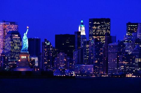 new york city skyline outline. new york city skyline outline.