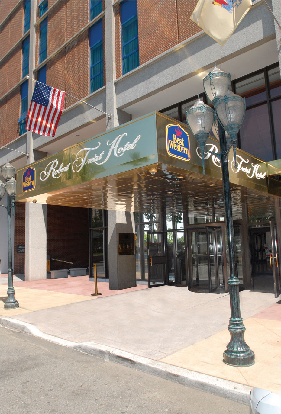 Contact Us At The Best Western Robert Treat Hotel